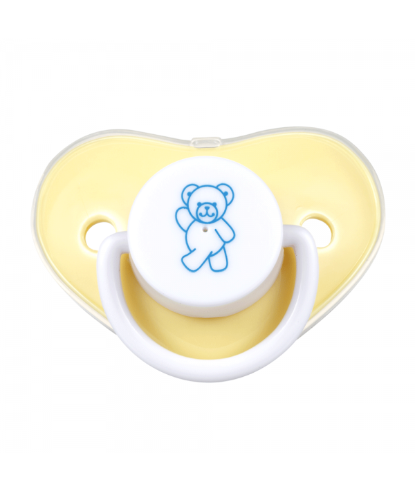 Bear Pacifier with cover (Silicone Teat)
