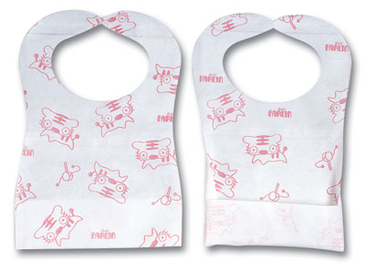 Disposable Baby Paper Bib
